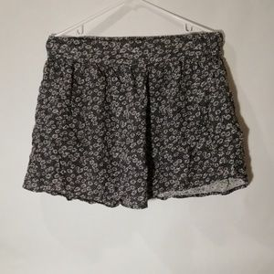 Daisy Floral skirt with POCKETS